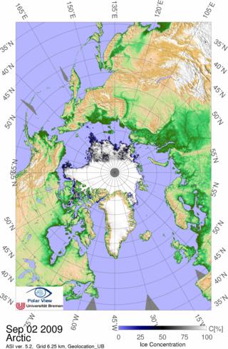 Carte glace 3:09 générale