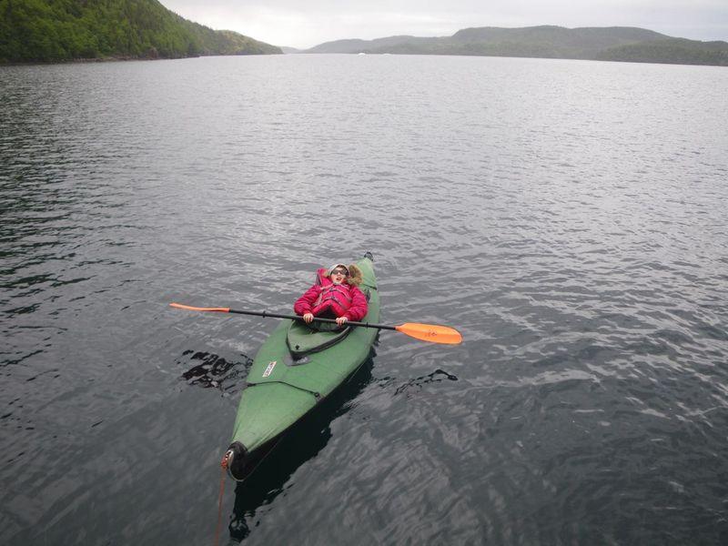 Agathe kayak sieste